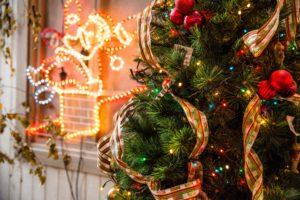Christmas holiday light limo tour